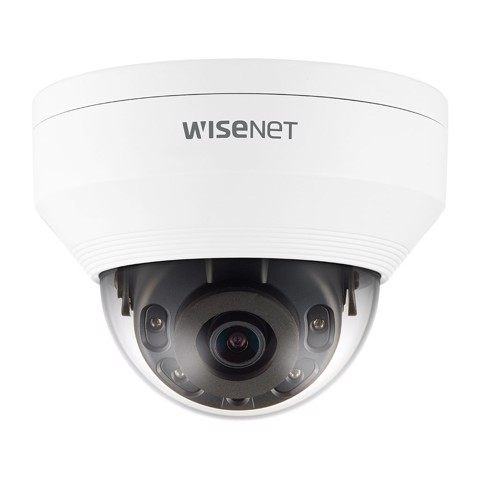 QNV-8010R | camera Wisenet Dome Anti-Vandale 5M, H.265, ống kính 2.8mm