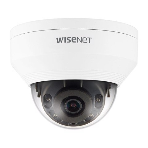 QNV-8030R | camera Wisenet Dome Anti-Vandale 5M, H.265, ống kính 6mm