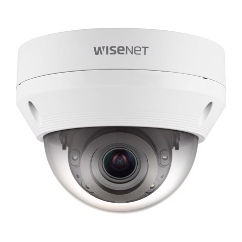 QNV-8080R | Camera Wisenet Dome Anti-Vandale 5M, H.265, Zoom 3.1X