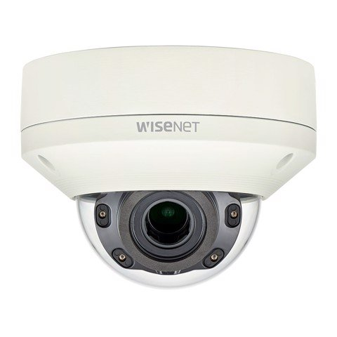 XNV-L6080R | Camera Wisenet Dome Anti-Vandale 2M, H.265, Zoom 3.1X