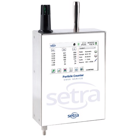 5000 Series - BACnet Enabled Particle Counter