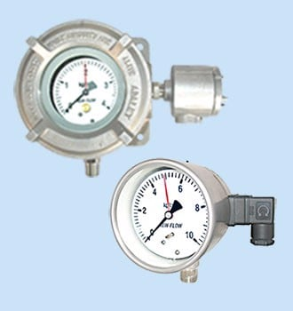 Pressure Gauge w/Micro Switch