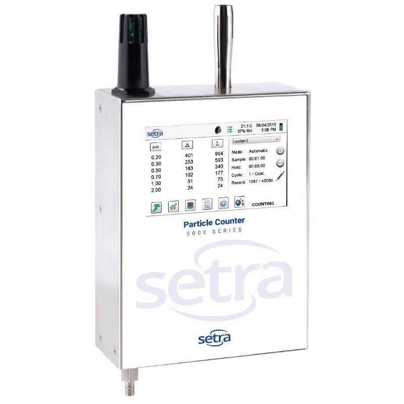 5000 Series - Remote Airborne Particle Counter