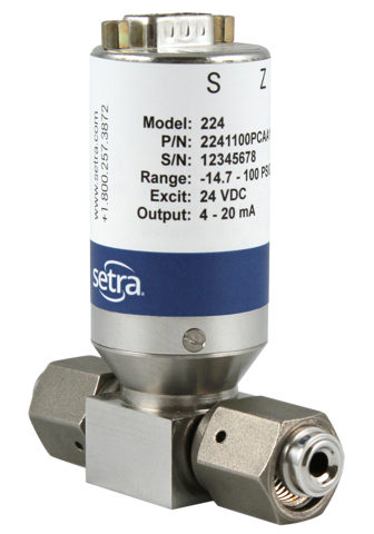Ultra High Purity (UHP) Pressure Transducers