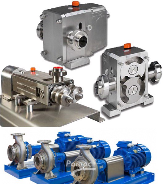 POMACPUMPS - SANITARY PUMPS