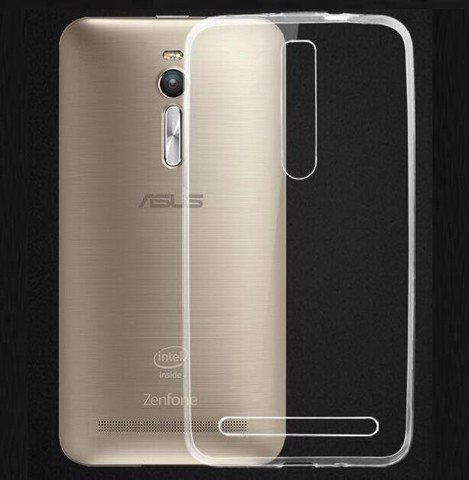Asus Zenfone 2 Laser  5.5 inch ZE551ML - Ốp lưng dẻo trong suốt (Thường)