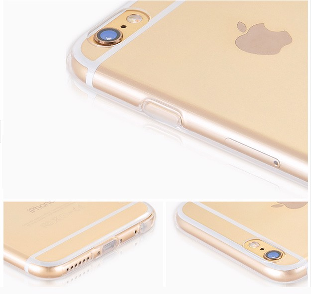 iPhone 6 Plus, 6S Plus - Ốp lưng dẻo trong suốt (Tốt) hiệu Hoco