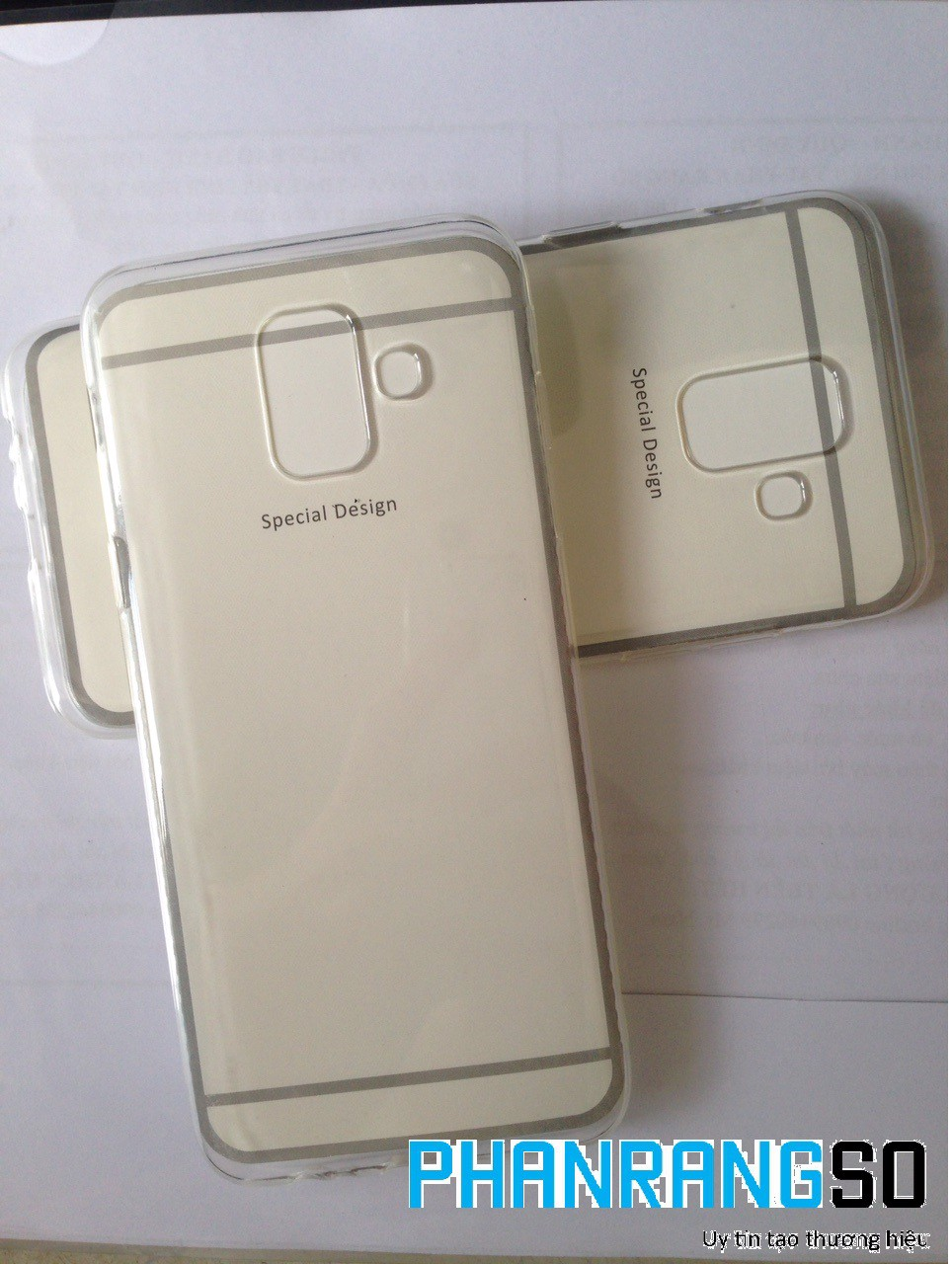 Ốp lưng dẻo trong suốt (tốt) Samsung A6 2018