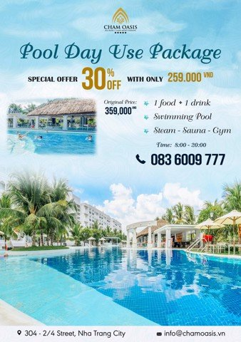 POOL DAY USE PACKAGE