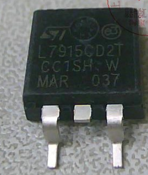 L7915CD2T 1A -15V TO-263