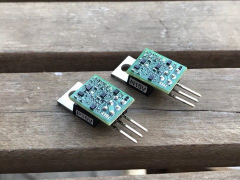 Sparkos Discrete Voltage Regulator 15V