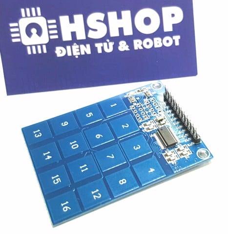 Bàn phím ma trận mềm 4x4 keypad – Hshop vn - Điện tử & Robot