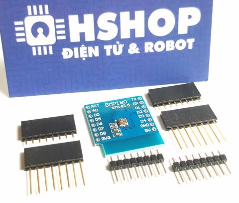 ESP8266 NodeMCU Lua D1 Mini BMP180 Shield