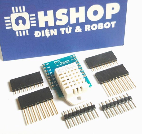 ESP8266 NodeMCU Lua D1 Mini DHT22 Shield