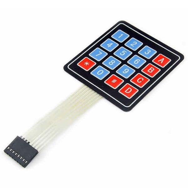 Bàn phím ma trận mềm 4x4 keypad