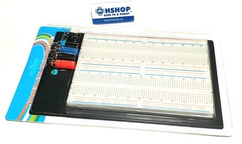 Breadboard ZY-204 1660 lỗ 165x110x10mm