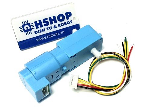 Động cơ DC Servo Geared TT Motor with Encoder Ratio 1:45