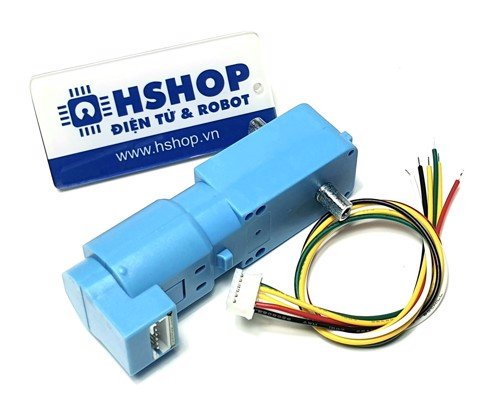 Động cơ DC Servo Geared TT Motor with Encoder Ratio 1:84