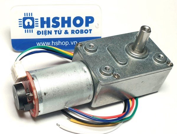 Động cơ DC Servo JGY370 High Torque Self-Lock DC Geared Motor
