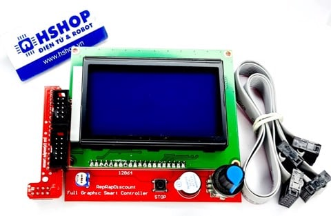 Mạch 3D Printer Smart Controller RAMPS1.4 LCD 12864