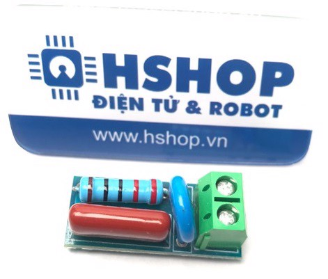 Mạch lọc nhiễu Relay RC Absorption / Snubber Protection