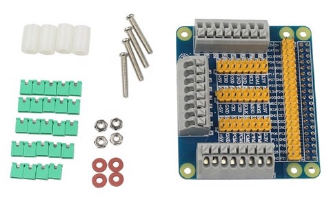 Mạch Raspberry Pi 2/3 Multi-functional GPIO Expansion Board