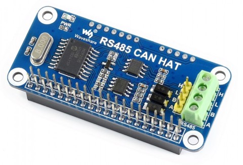 Mạch Waveshare RS485 CAN HAT for Raspberry Pi