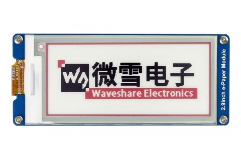 Màn hình Waveshare 2.9 inch E-Ink display module, three-color (B)