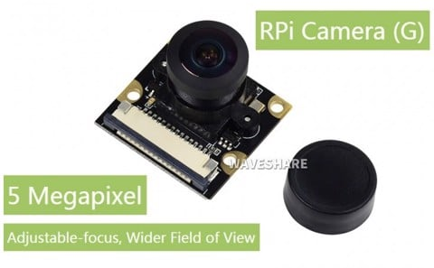 Camera Raspberry Pi (G) Fisheye Lens 160 Degree FoV OV5647 5MP