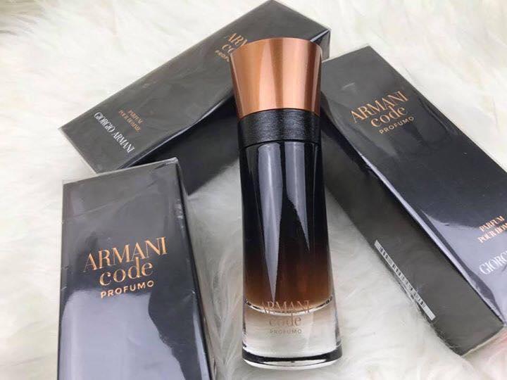 Image result for Nước hoa Armani Code Profumo