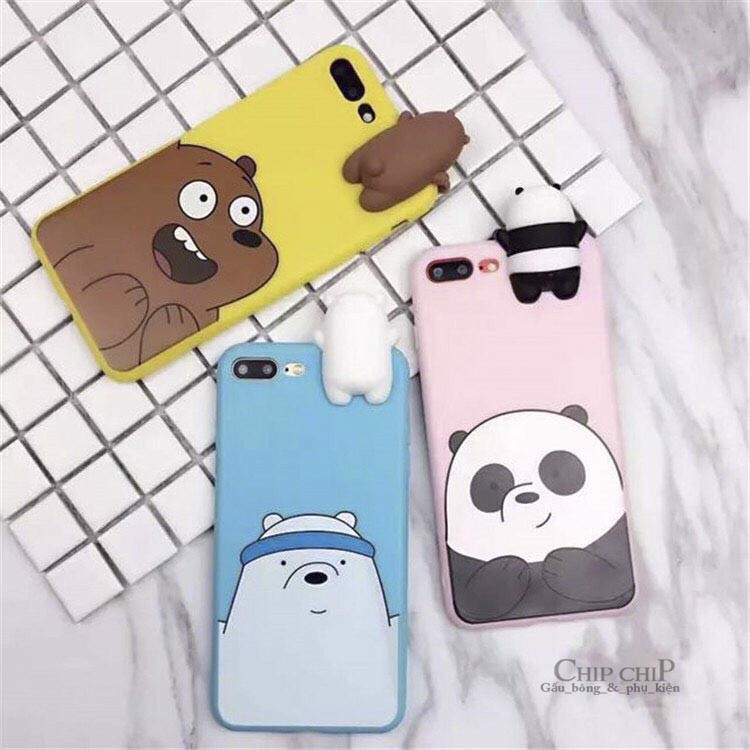 Case gấu nâu iphone 6/7/6plus/7plus