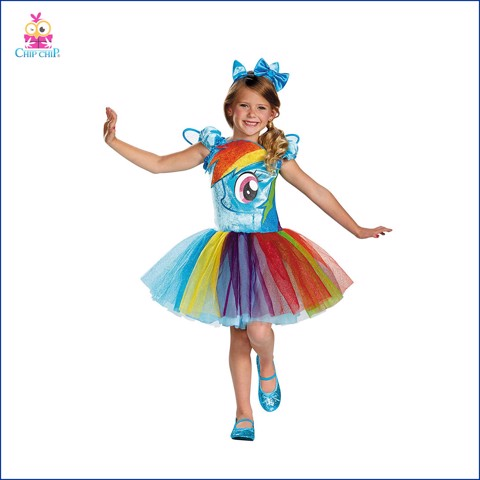 Bộ my little pony halloween costume chip chip