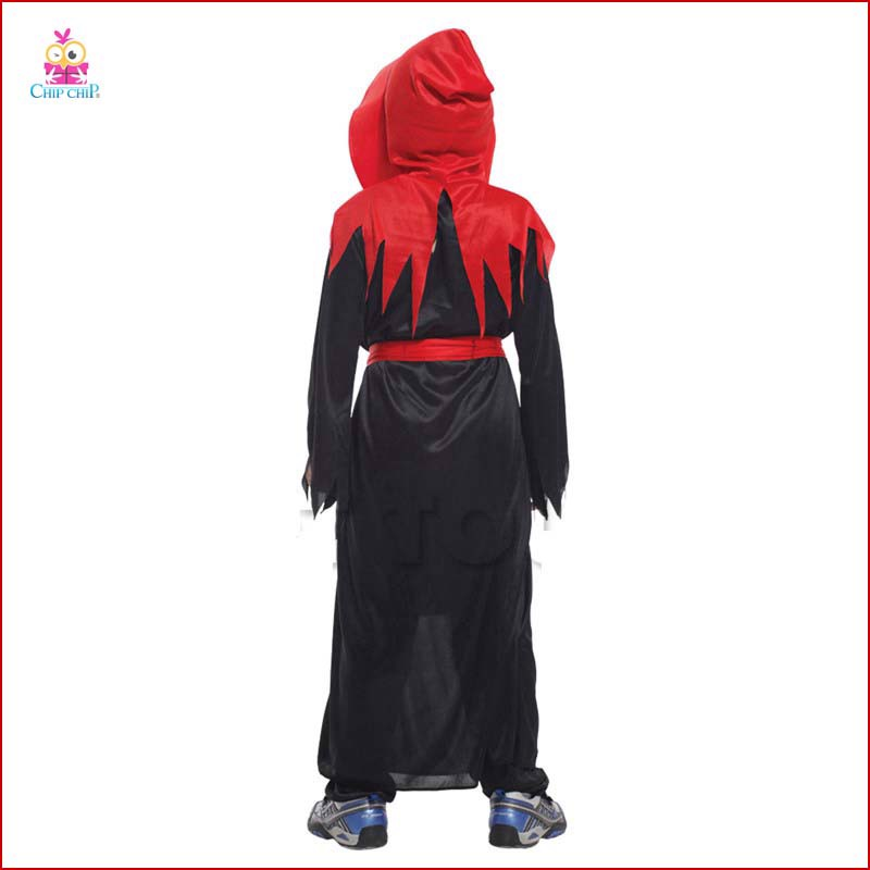 Bộ quỷ gothic monk red