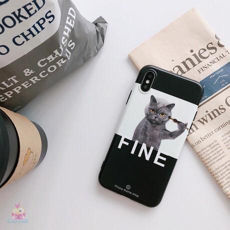 Case mèo fine ip67P