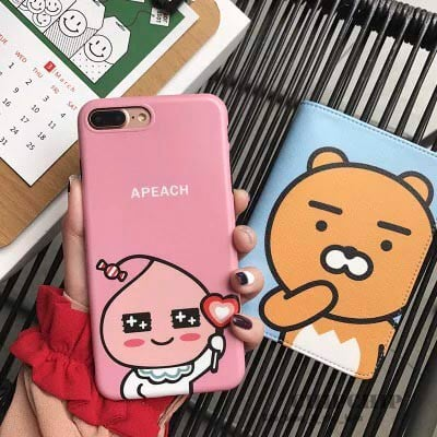 Case apeach iphone 6/6s/6 plus