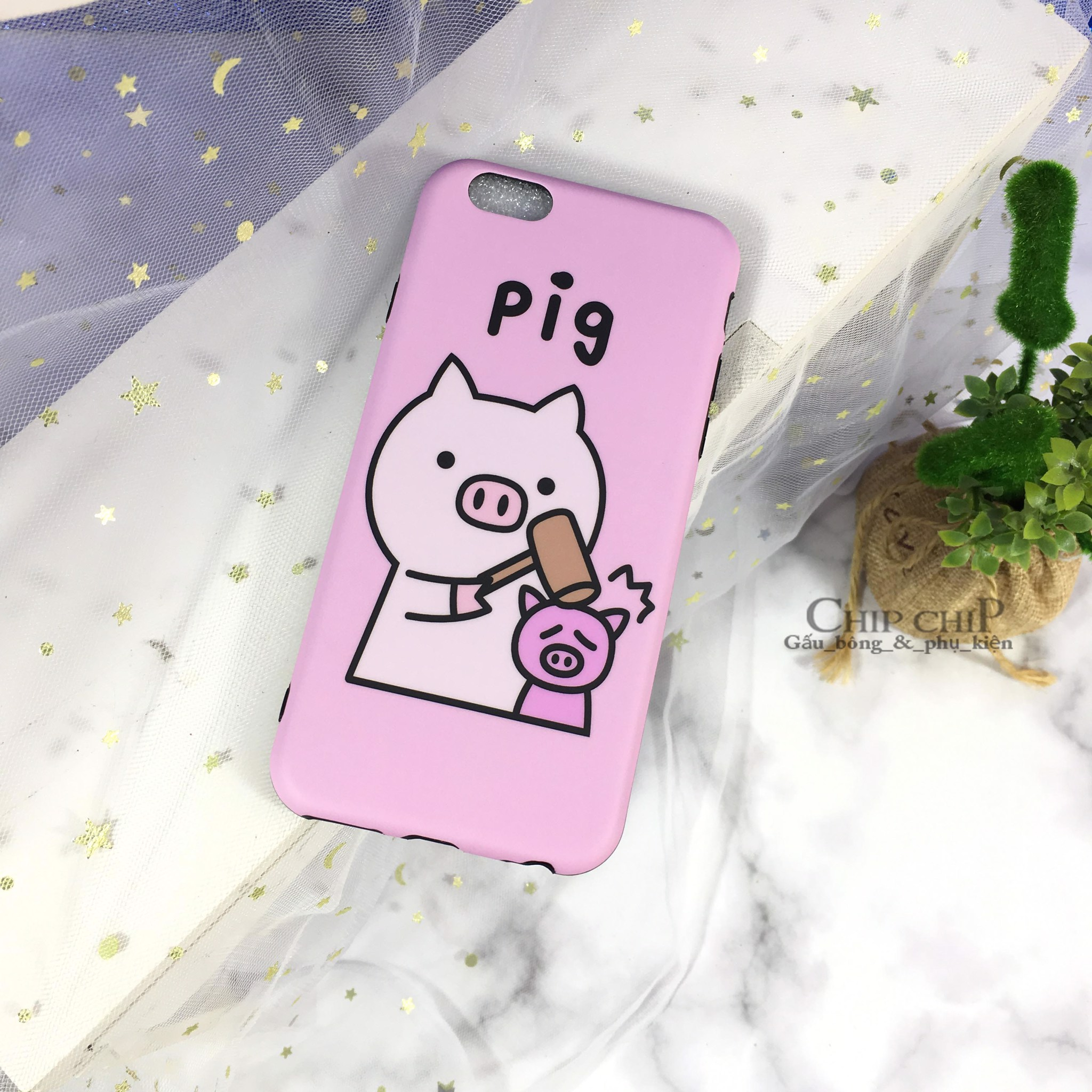 Case iphone 6G pig
