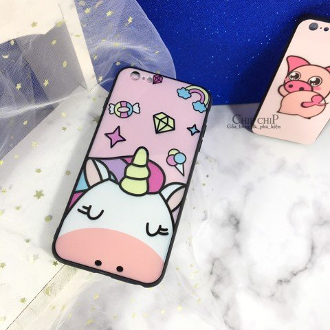Case iphone 6P heo unicorn
