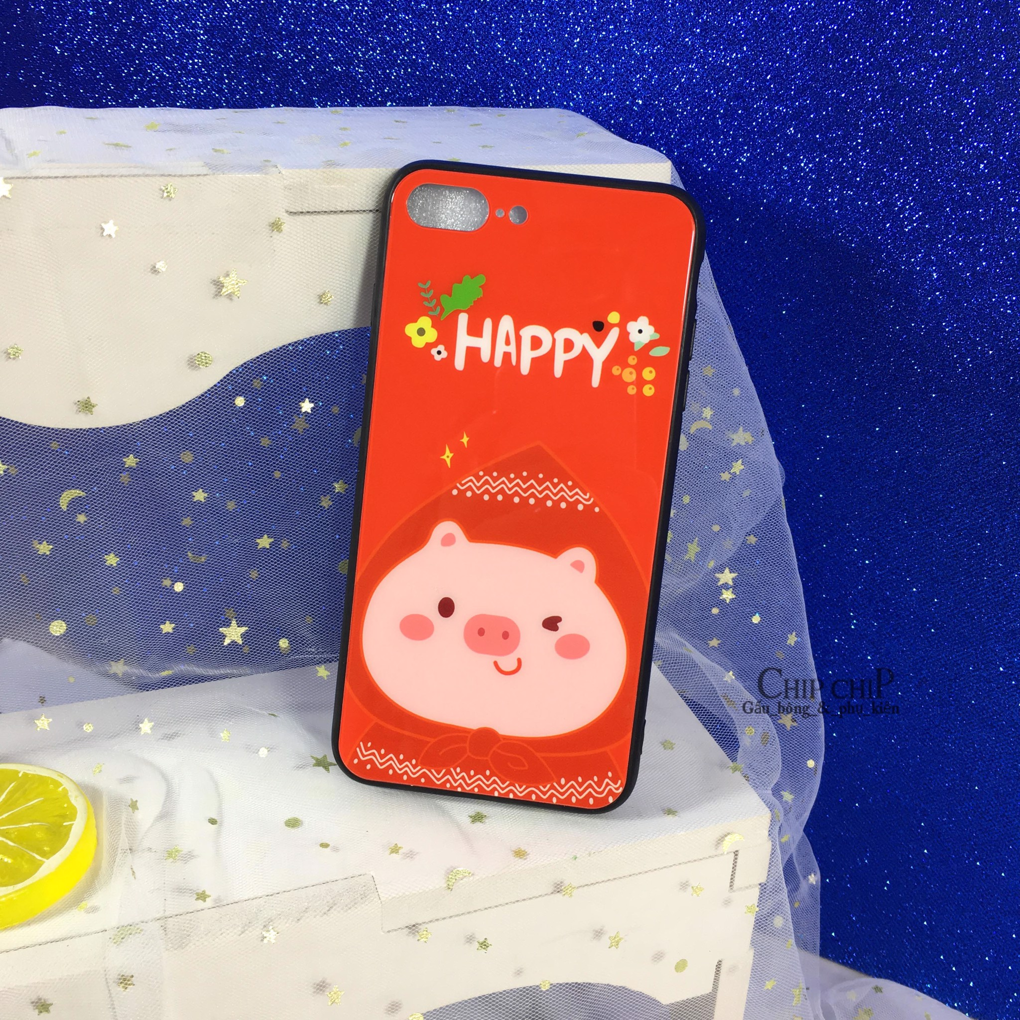 Case iphone 7P heo happy