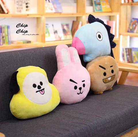 Gối bt21 cooky