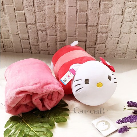 Gối mền Hello Kitty 2in1