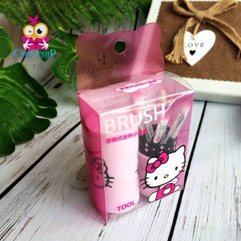 Bộ cọ kitty mini tròn