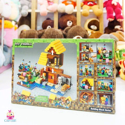 Bộ Lego MY WORLD