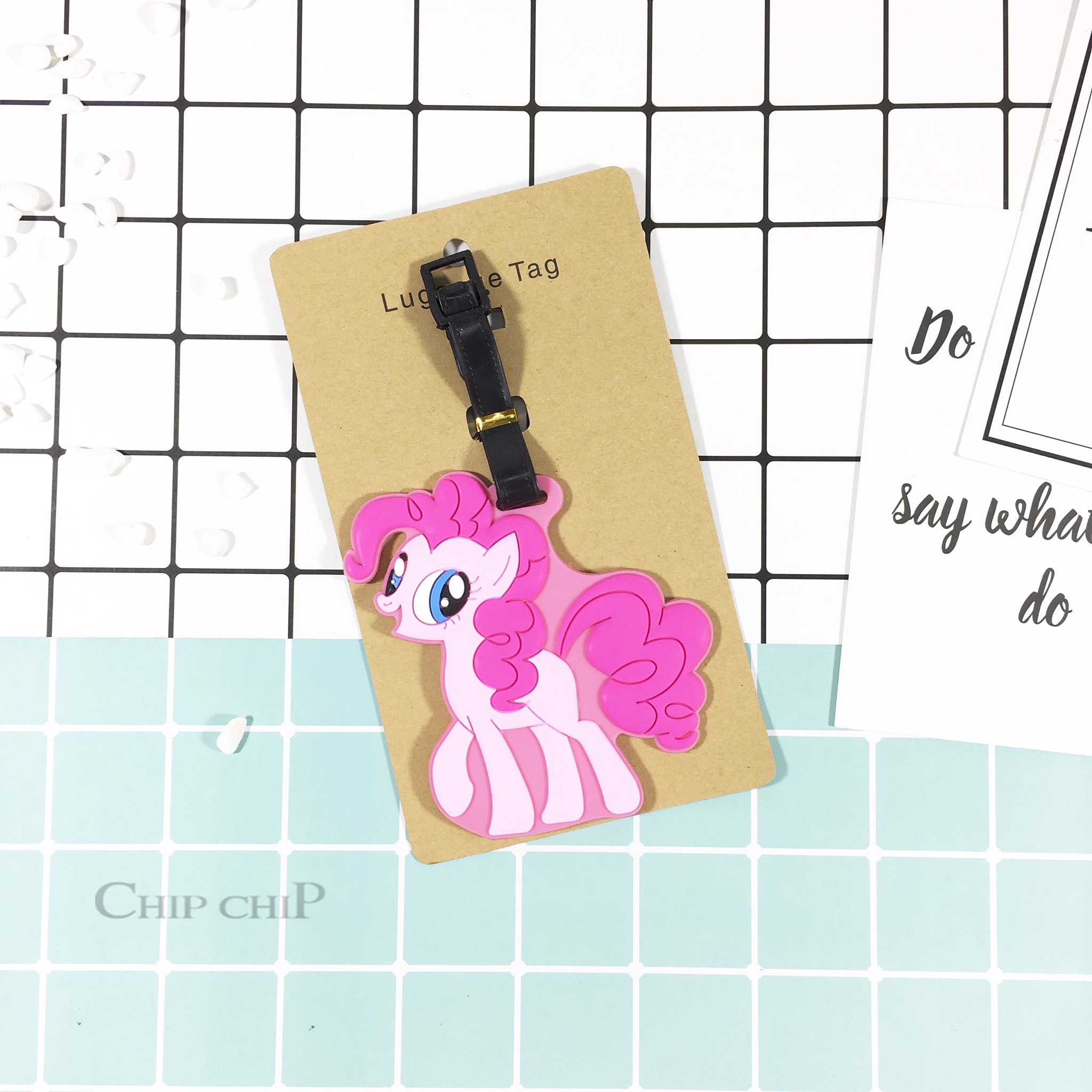 Name tag ngựa pony