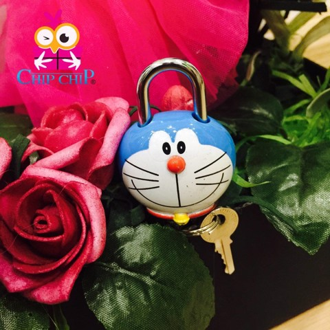 ổ khóa mini Doraemon
