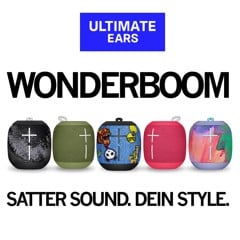 Loa di động Ultimate Ears Wonderboom Xanh Lá