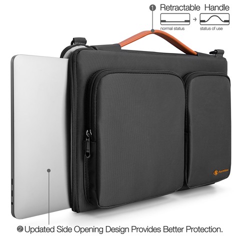 Túi xách MacBook 15'' Tomtoc Shoulder A42-E02B01