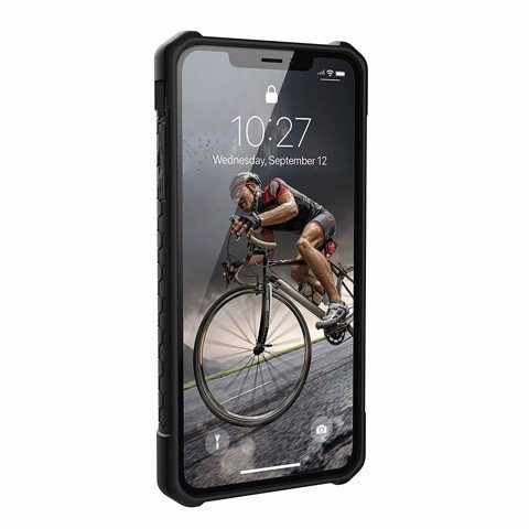 Ốp lưng iPhone XS Max UAG Monarch Carbon Fiber Xám