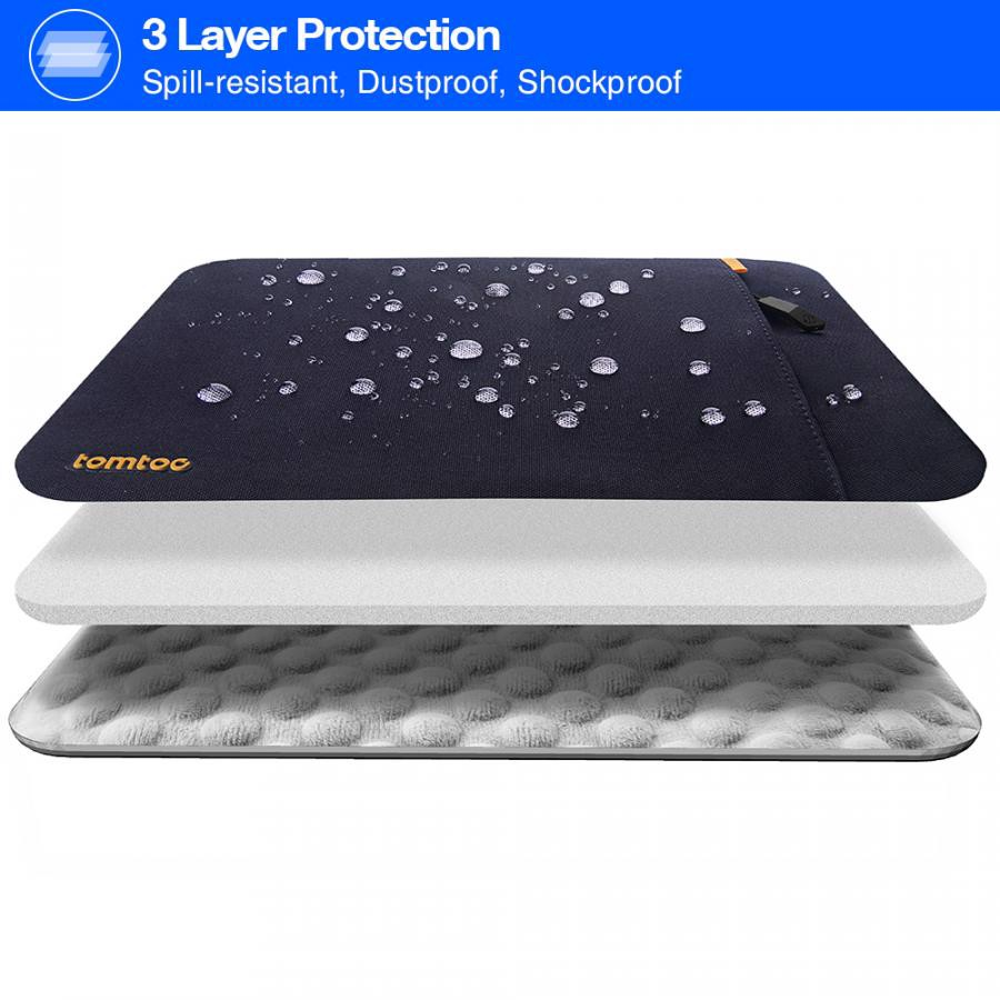 Túi Chống sốc 13'' Tomtoc Protective Đen A13-C02D