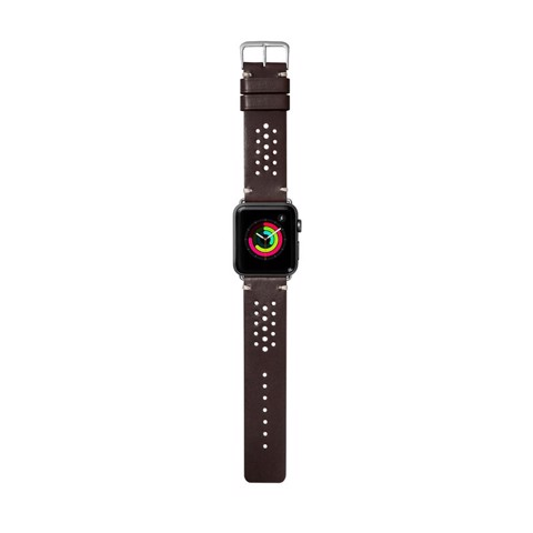 Dây đeo Apple Watch LAUT Heritage Olive (38mm/40mm)
