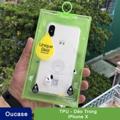 Ốp lưng iPhone X/Xs Oucase trong dẻo